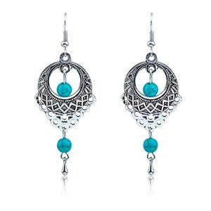 3/$20 New Vintage Style Turquoise Earrings
